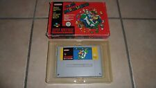 JEU SUPER NINTENDO SNES EN BOITE - SUPER MARIO WORLD - BE VF