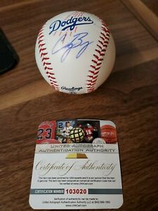 Cody Bellinger Signed Autographed Baseball COA