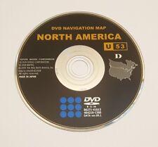 2007 2008 2009 2010 TOYOTA AVALON XLS TOURING NAVIGATION DVD MAP U53 UPDATE OEM