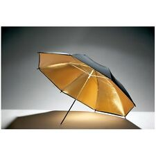 Paraguas reflectante dorado-negro 84cm