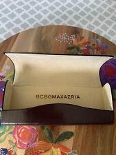 BCBG Maxazria Sunglasses Eyeglasses Case Hard Shell Protective Travel Carrier