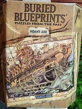 Bepuzzled Buried Blueprints Jigsaw Puzzle 1000 Pcs Noah'S Ark 1995 -