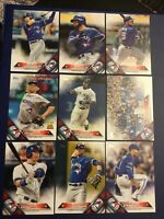 2016 Topps TORONTO BLUE JAYS Complete Team Set Series 25 Cards MINT WOW !