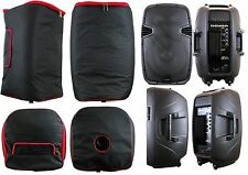 2 SPEAKER BAGS Padded FIT 15 INCH JBL EON515 Gemini ES-15BLU PA DJ Powered