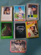 Old Topps Card Lot Baseball cards, Non-Sport Movie Cards, and Cheerleader cards
