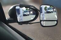 Streetwize Large 4x4 Van & Car Caravan Towing Mirror + Rear Reflector - E Marked