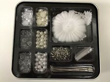 Stampin Up Pretties Kit Flowers Pearls Rhinestones Beads Brads Embellishments