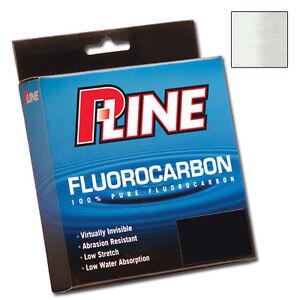 P-LINE FLUOROCARBON SOFT CLEAR - 100m & 225m 5-20 Lbs - 100% JAPAN FLUOROCARBON