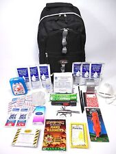 Survival Backpack Kit with 3 Day Food, Water & Gear 5 Yr Shelf Zombie Emergency