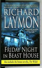 FRIDAY NIGHT IN BEAST HOUSE by Richard Laymon, rare US horror pulp vintage pb
