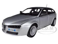 ALFA ROMEO 159 SW SILVER 1/24 DIECAST MODEL CAR BY MOTORMAX 73372