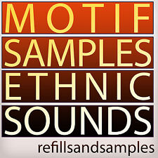 MOTIF Ethnic Instrument Samples Yamaha World Keyboard Es Xs Xf *** WAV Sounds CD