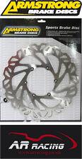 HARLEY DAVIDSON SPORTSTER 2000-2011 ARMSTRONG FRONT WAVY BRAKE DISC (single)
