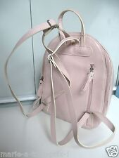 DAVID JONES SAC A DOS ROSE PALE REF JJ306 ECOLE RANDO GRAND VOLUME NEUF !!!