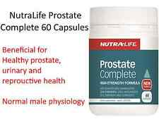 60 capsules NUTRALIFE Prostate Complete Saw Palmetto 4000 with Lycopene