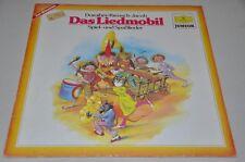 Das Liedmobil - Spiel- und Spasslieder - Musik zum Mitmachen - Schallplatte LP