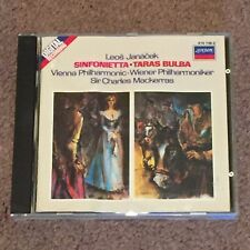 Leos Janacek: Sinfonietta 'Taras Bulba'- (CD, Music, Classical, Rhapsody, 1983)