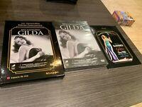 Gilda DVD+Libro Rita Hayworth Joseph Calleia George Macready Sigillata Nuovo