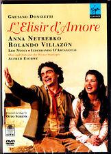 "DVD-NUOVO & OVP - ""Gaetano Donizetti-L 'ELISIR d ' amore"" - Anna Netrebko"