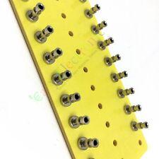 10pcs copper plated nickel Fiberglass Turret Terminal Strip 24pin Lug Tag Board