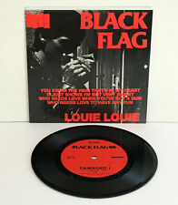 """BLACK FLAG louie louie Ep 7"""" Vinyl Record , SST Records , hardcore , punk"""