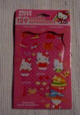 Hello Kitty 129 Stickers New 6 Sheets Party Favors American Greetings Corp.