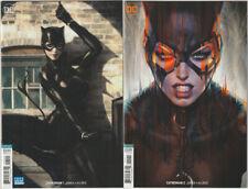 Catwoman #1 & #2 NM 2018 DC Comics Stanley Artgerm Lau Variant set lot run