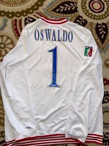 Jersey Chivas Centenario GoalKeeper Oswaldo Sanchez #1 Authentic By Reebok.