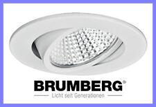 Brumberg LED Einbaustrahler Einbauspot Einbauleuchte 12251073 schwenkbar weiss
