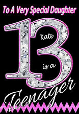 'YOU'RE A TEENAGER!' Personalised Birthday Card! ANY NAME / RELATION.COOL CARD 2