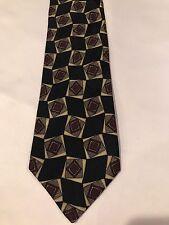 Chanel Paris Multi Color Silk Tie Made In Italy