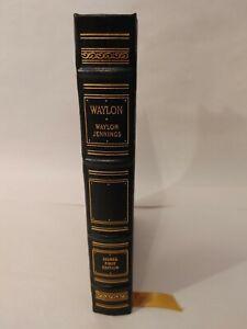 Waylon by Waylon Jennings (SIGNED First Edition, Easton Press)