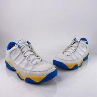 Nike Air Jordan 9.5 Nine Point Five White University Blue Sz 9 Promo/Sample Shoe
