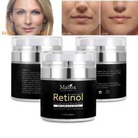MABOX Retinol 2.5% Moisturizing Cream Eye Hyaluronic Acid Vitamin E Face Cream