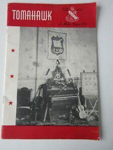 Tomahawk Fall 1955 Alpha Sigma Phi booklet