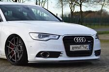 Frontspoiler Lippe Schwert Cup Spoiler ABS für Audi A6 4G C7 Bj. 2010-2014