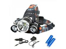 Ultrahelle LED Stirnlampe Kopflampe T6 CREE LEDs 5000 LM 2x 18650 Akku Headlamp
