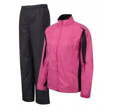 Cypress Point Waterproof Breathable Golf OverSuit Bright Pink Black 12,14,16,18