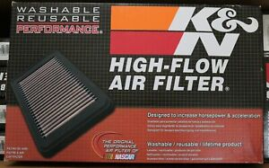 NOS K&N 33-2235 High-Flow Air Filter Washable 1999-2020 GMC Chevy Cadillac