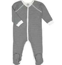 BNWT Petit Bateau Toddler Sleepsuit Black White Stripe 18 Months Iconic Sailor