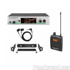 Sennheiser EW300 IEM G3 Wireless In-Ear Monitor System G-Band 566-608Mhz IE4 NEW