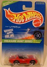 1996 Hot Wheels Treasure Hunt #6 Dodge Viper RT/10 Red