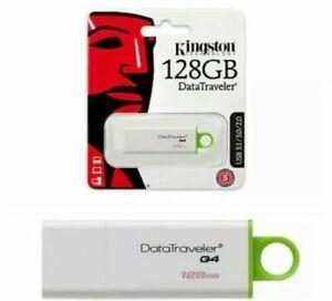 Kingston 128GB DataTraveler USB 3.1 Flash Pen Drive Keyring Memory Stick