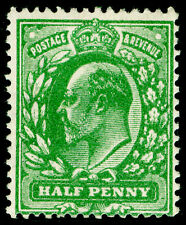 Sg269 SPEC M3(-), ½d VERY DEEP dull yellow-green, NH MINT. Cat UNLISTED. (RC)