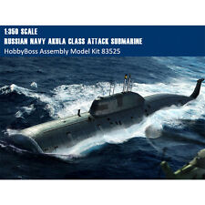 HobbyBoss 83525 1/350 Russian Navy SSN Akula Class Attack Submarine Model Kits