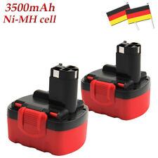 2Pack 3.5AH 14.4V Ni-MH Akku für Bosch 2607335276 2607335533 2607335685 BAT040