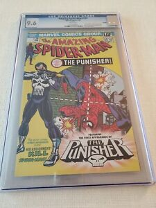 THE AMAZING SPIDERMAN #129 💀1ST PUNISHER ☆ LGF VARIANT - KEY ISSUE!  9.6 CGC