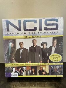 New Sealed NCIS Board Game Based on TV Show Play Agent Gibbs #5350 Pressman
