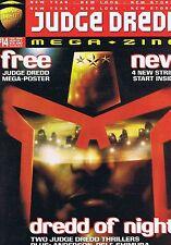 JUDGE DREDD The Megazine + POSTER no. 14 Feb 1996