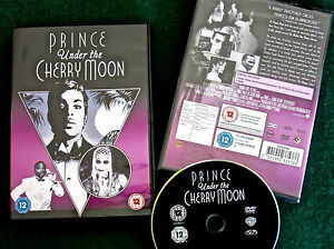 NEW/SEALED *PRINCE 'Under The Cherry Moon' MUSICAL Film DVD Kristin Scott-Thomas